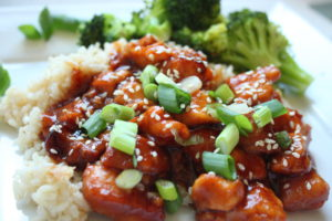 5 Ingredient Crockpot Orange Chicken Heidi S Home Cooking