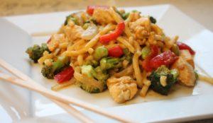 thai curry with edamame