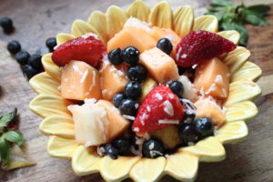 Cinnamon Coconut Fruit Salad