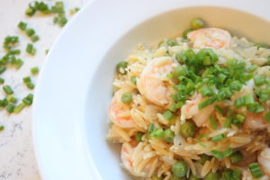 Creamy One Pot Lemon Orzo