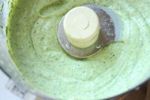 5 Minute Avocado & Cilantro Lime Dressing