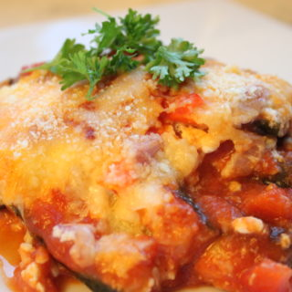 Crockpot Gluten-Free Vegetarian Lasagna
