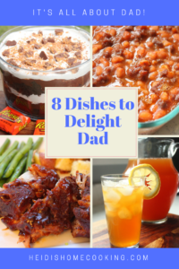 Want to put a big smile on Dad's face this Father's Day? These 8 recipes are tried and true, dad-approved, and absolutely delicious! Find an easy main course baby-back rib dish and a tantalizing chocolate layered dessert among other appetizer and side dishes. There is even a refreshing recipe for an iced black tea lemonade just like the one at Starbucks! Your dad will totally feel the love when you serve him one of these recipes!