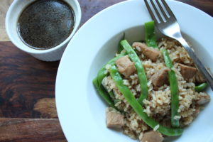 teriyaki pork chop stir-fry