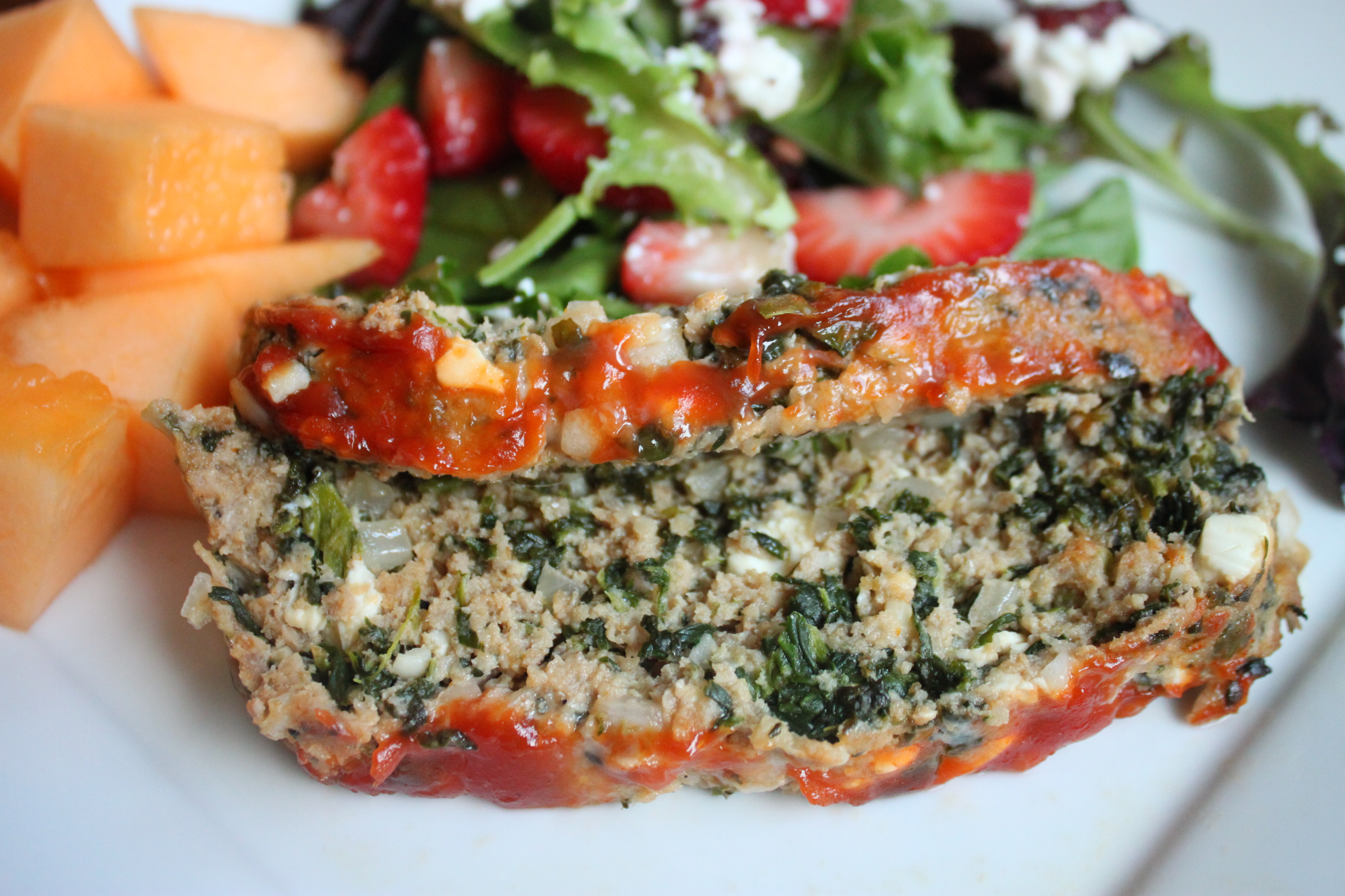 Greek Meatloaf with Turkey and Feta Cheese   Heidi's Home Cooking