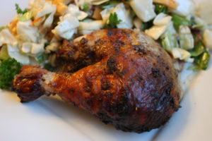 Easy Roasted Jerk Chicken Heidi S Home Cooking