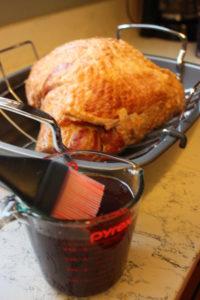 coffee crusted ham