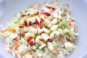 apple celery coleslaw