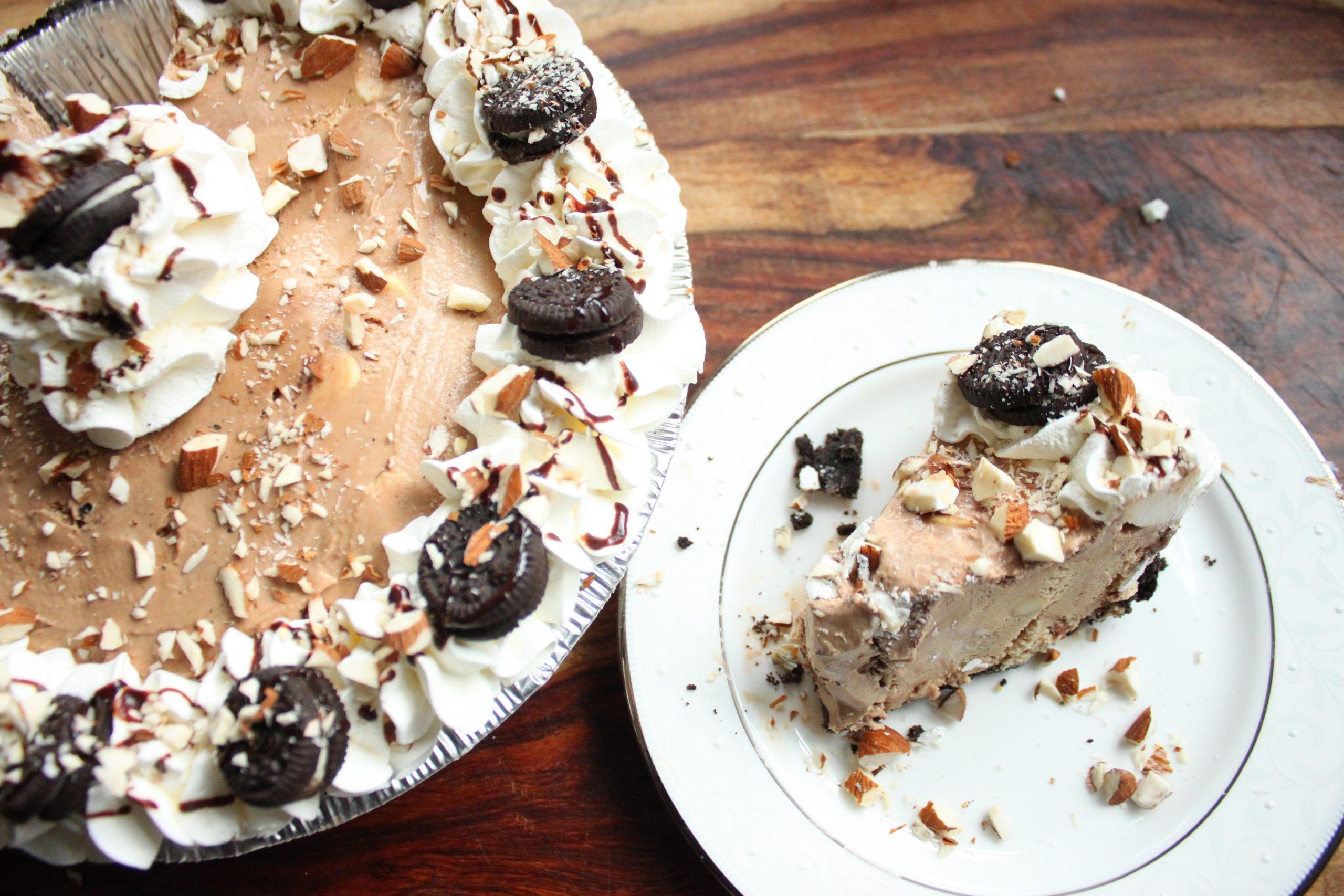 Baskin Robbins Jamoca Almond Fudge Ice Cream Pie