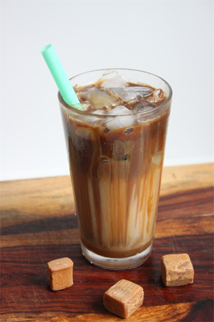 Easy Starbucks Iced Caramel Macchiato Recipe Heidi S Home Cooking