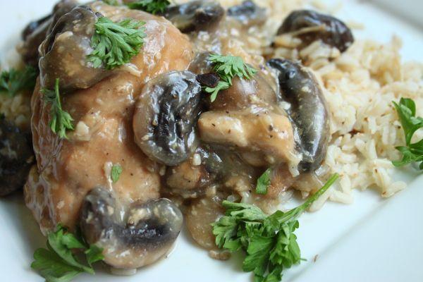 chicken mushroom and white wine recipe