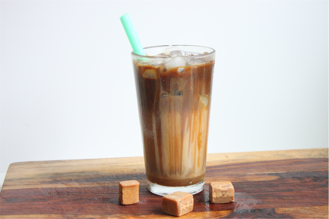 Easy Starbucks Iced Caramel Macchiato Recipe Heidi S Home