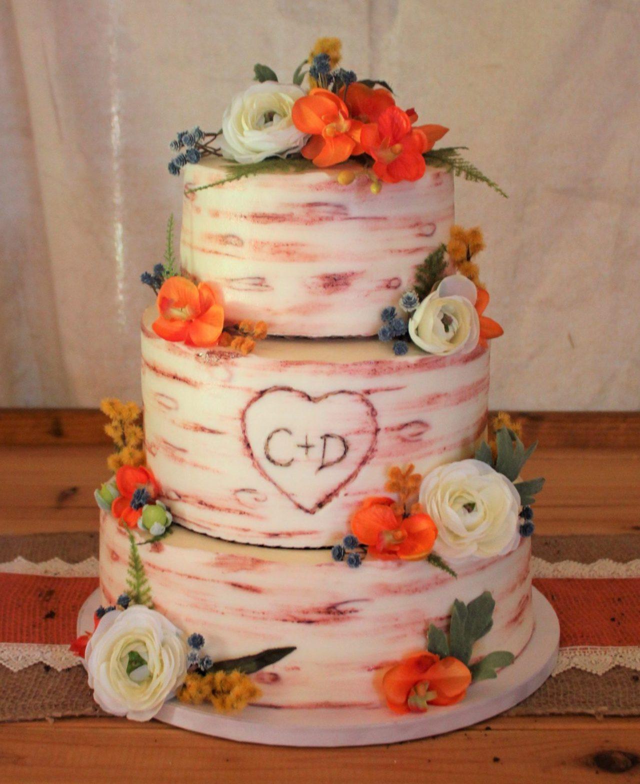 Birchwood Texture Cake