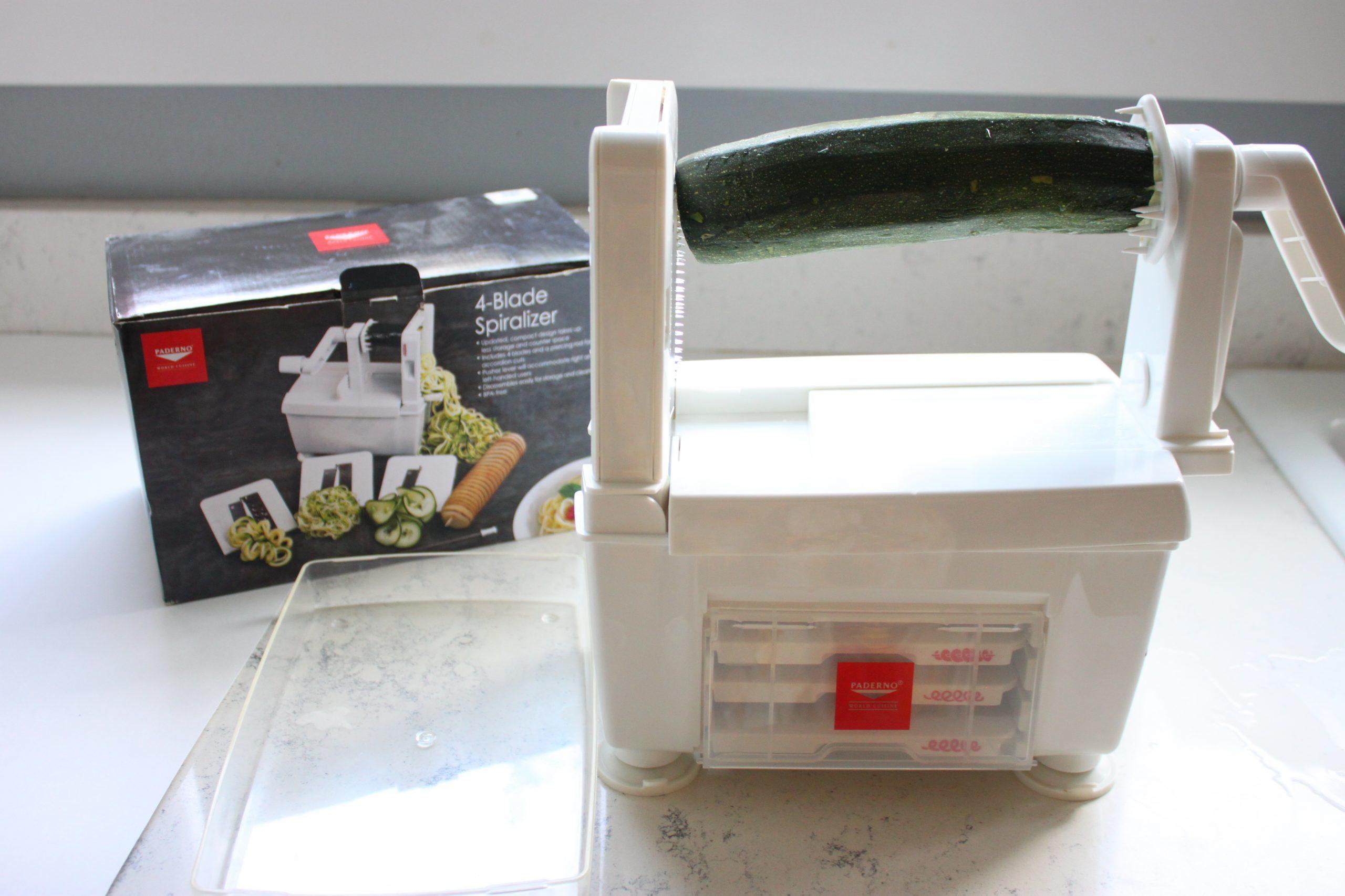 zucchini spiralizer