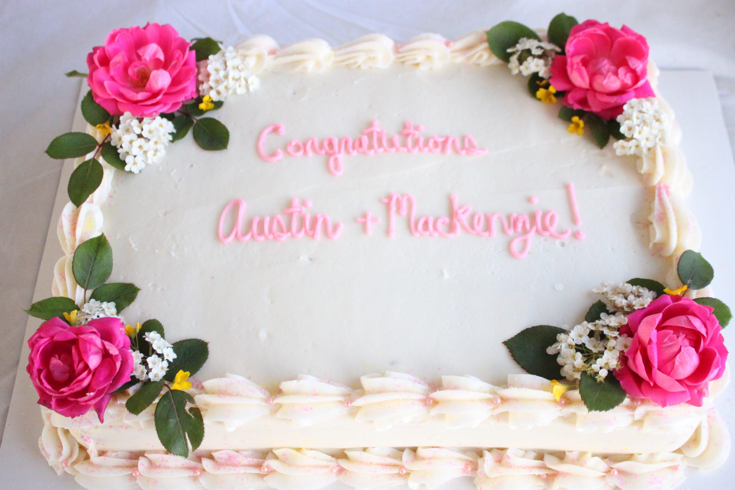 Celebration Sheet Cake