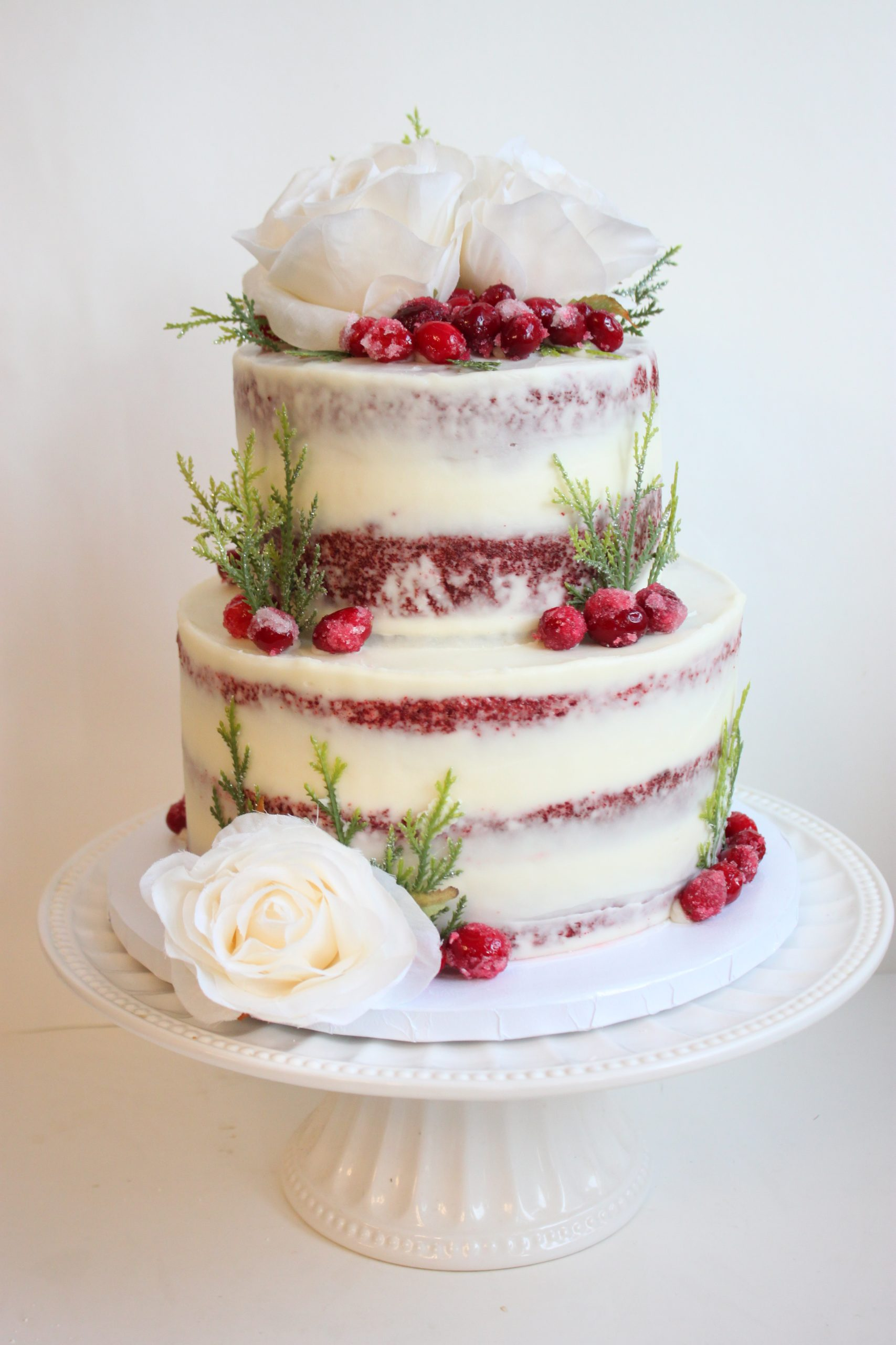 Red Velvet with Sugared Cranberries
