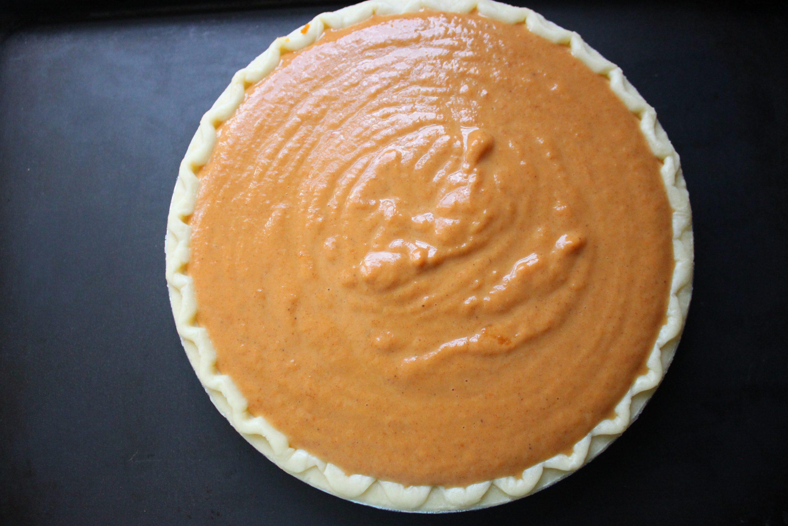 Baking a Pumpkin Pie