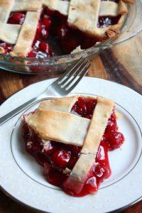 Cherry Lattice Pies