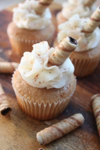 Pirouette Cookie Cupcake
