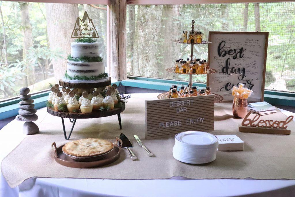 Woods Wedding Display